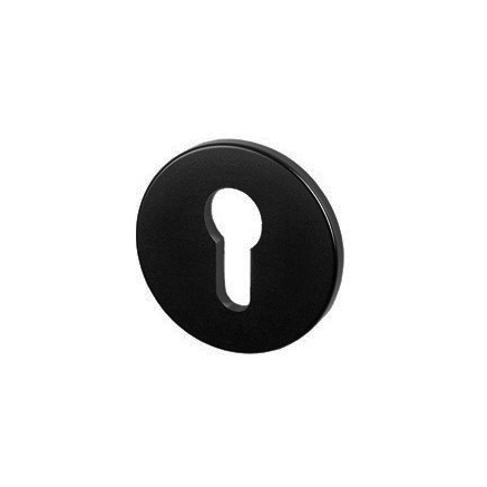 накладка Euro-Cylinder Key Escutcheon Black